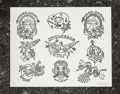 Flash Sheet Prints