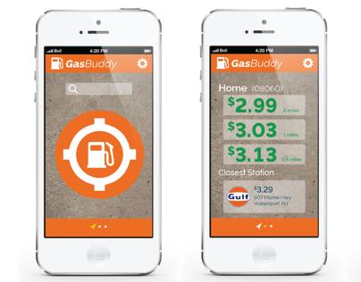 GasBuddy App Redesign