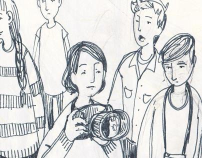 Sketchbook: doodles