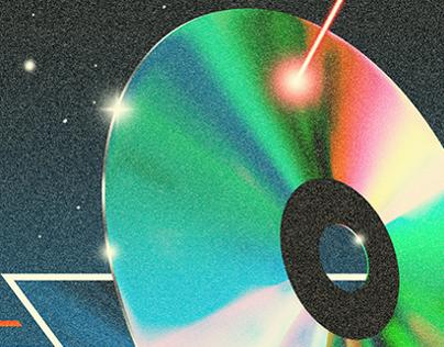 Laser Disc Poster
