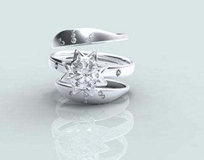 Jewelry CAD Portfolio/ Production Lines 商业珠宝设计