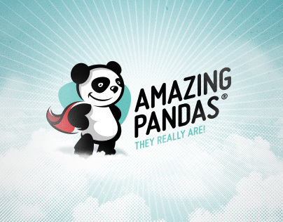 Amazing Pandas / Character/ Logo Design