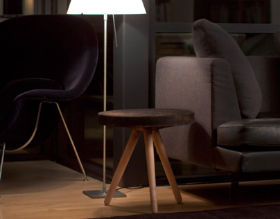 Sugi Side Table