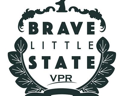 Brave Little State Logo Design