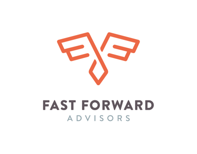 Fast Forward Advisors - logo and business card design