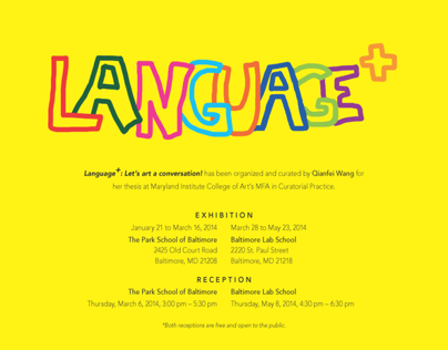 Language+: Let's art a conversation!