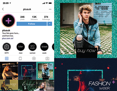 Instagram pages