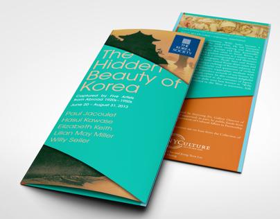 The Hidden Beauty of Korea: Exhibition Brochure