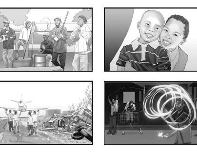 Storyboards in Tone