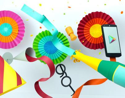Google Play Christmas Campaign