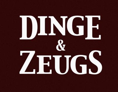 Dinge & Zeugs Illustration