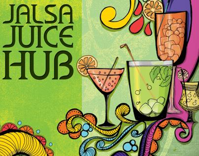 Menu Card Design - Jalsa Juice Hub