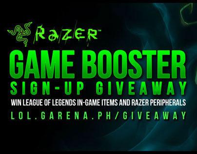 Razer Game Booster Promo Banner
