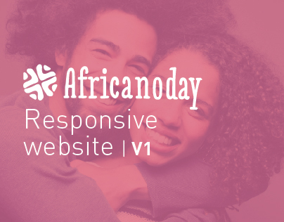 Africanoday | Responsive web app