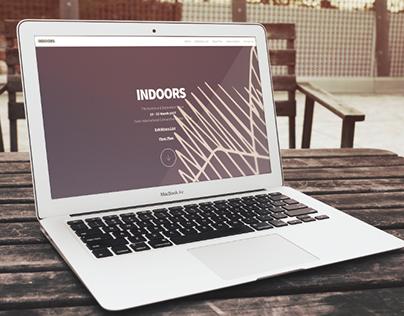 """INDOORS Exhibition """"Website"""""""