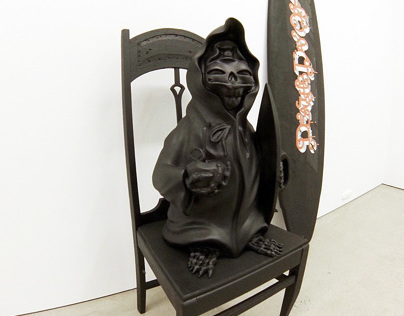 """Nasty Goreng"" Sculptural work with Sheryo"