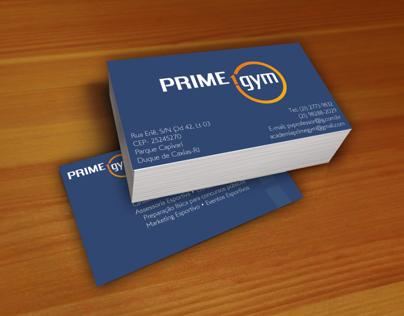 Cartão de visita: Prime Gym
