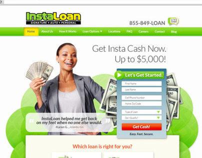 InstaLoan Website