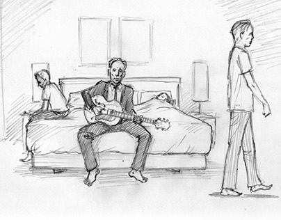 """Storyboards - """"Under The Stairs"""" Music Video"""