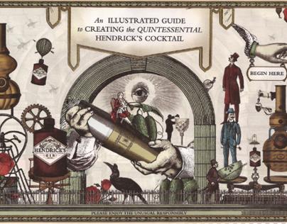 Hendricks Gin Animation