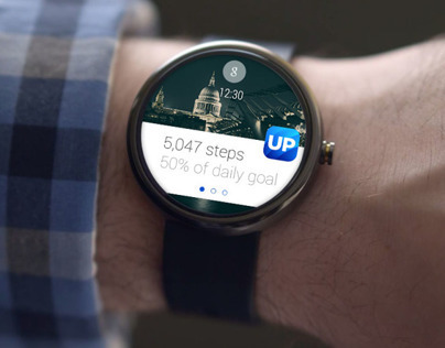 Jawbone Up on Android Wear