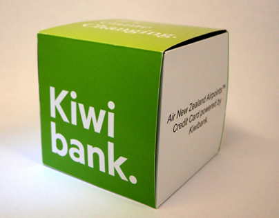 Kiwi Bank cube