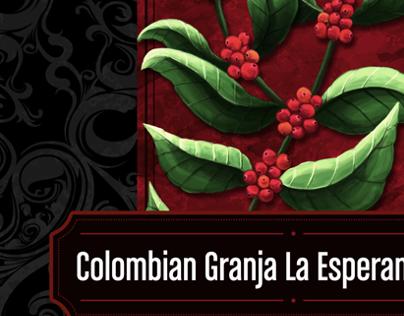 Premium Colombian Label