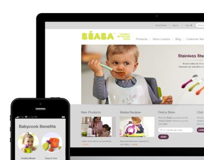 BÉABA USA Website