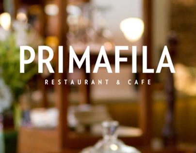 PRIMAFILA Restaurant Branding