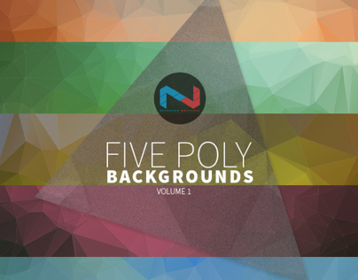 5 Poly Backgrounds Vol 1