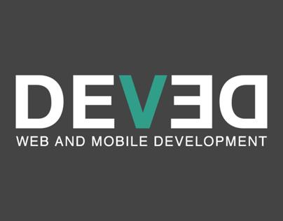 Deved logotype design