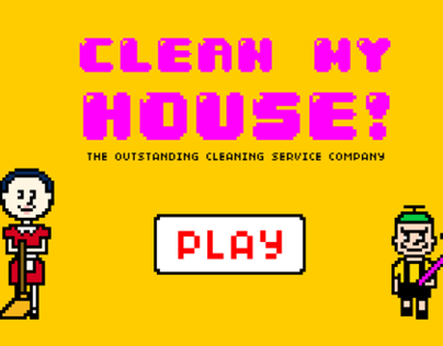CLEAN MY HOUSE - game design