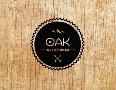 OAK bar & restaurant - Logo concepts