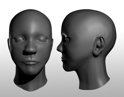 3D Modeling: Human Face