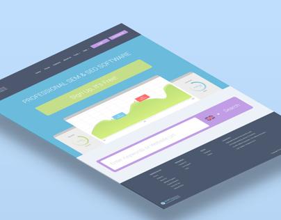 SEO Homepage Website Design