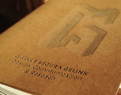 Lasercut Notebook
