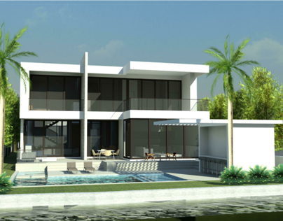 Prairie New Residence (Miami Beach, USA)