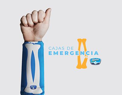 Young Lions PR 2019 Alpina - Cajas de emergencia.