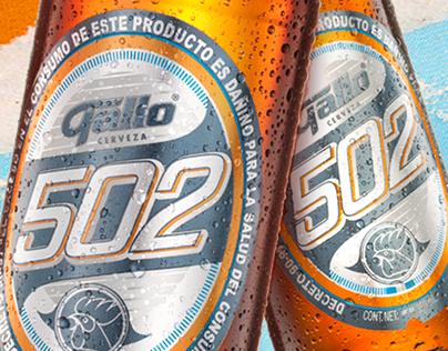 Cerveza Gallo 502