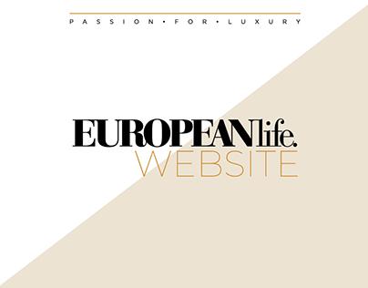 EuropeanLife Website