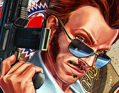 «Liberté Égalité Fraternité» game art