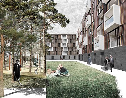 Residential complex in Kiev