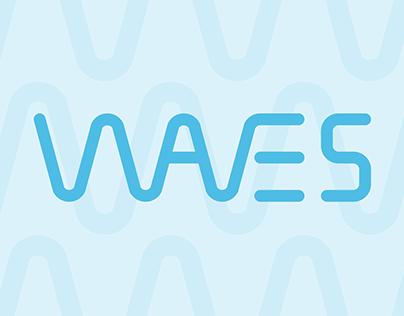 Waves - concept wordmark
