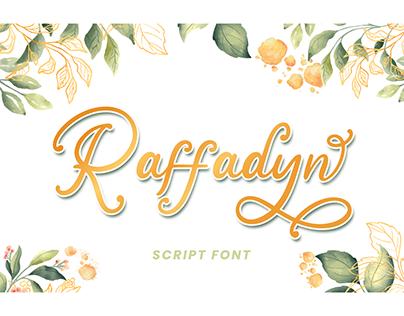 Raffadyn – Wedding Font