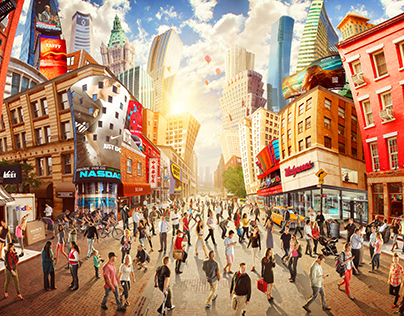 Adobe's Whimsical New York