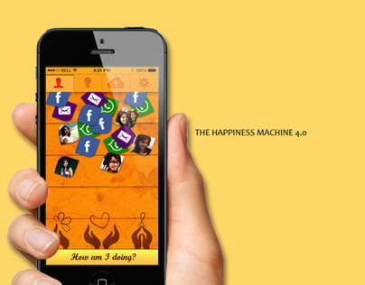 The Happiness Machine 4.0 - Joy of Giving