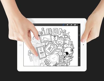 Drawings on iPad