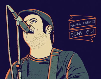 tribute to tony sly on behance. Black Bedroom Furniture Sets. Home Design Ideas