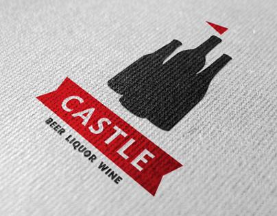 Castle Liquor Identity