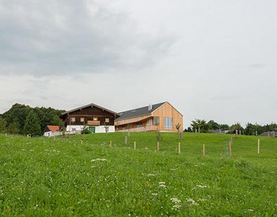 renovation & extensionfarmhouse, salzburg, austria